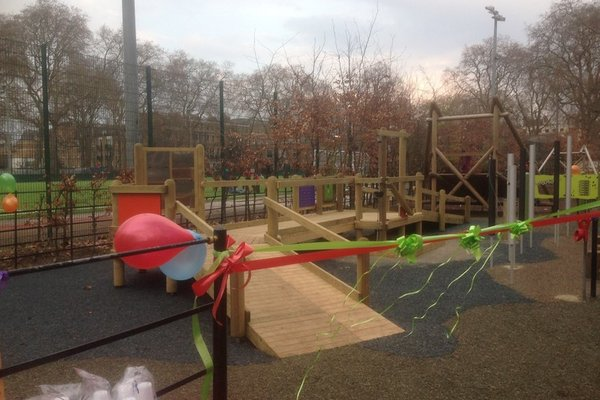 London, Coram Fields Play Area - 0/4